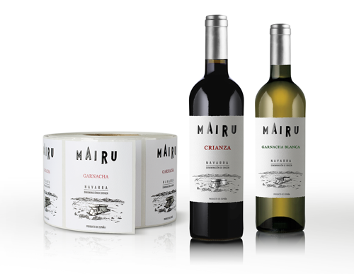Mairu wine label
